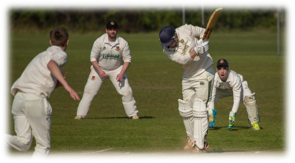 bowled by pursey
