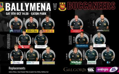 Match Preview: Ballymena RFC V Buccaneers