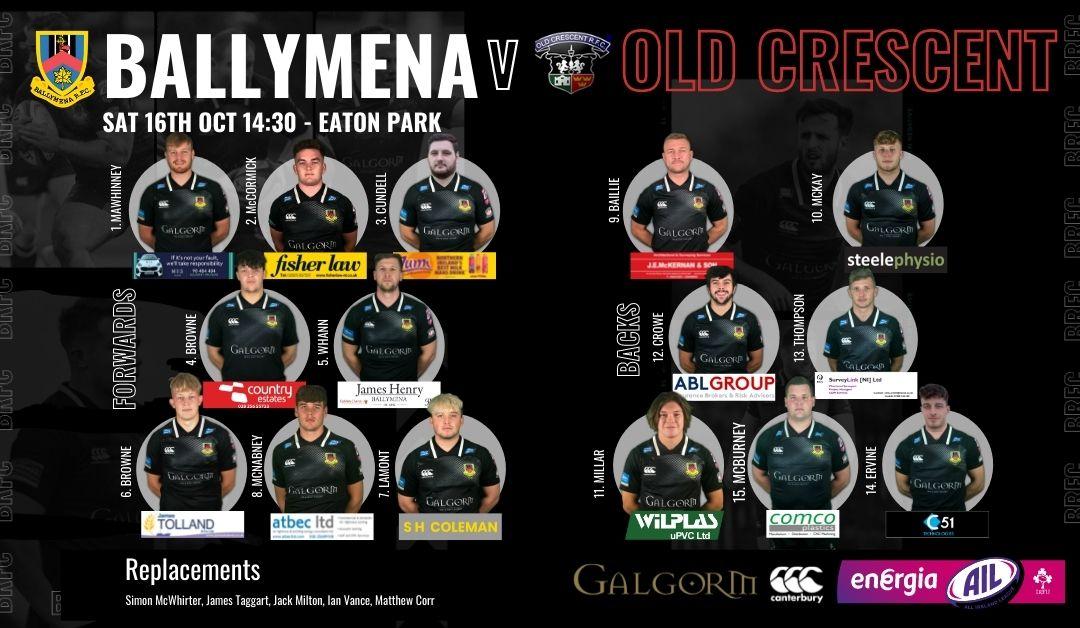 Match Preview: Ballymena RFC V Old Crescent
