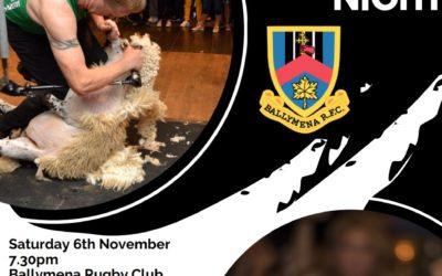 Team Sheep Shearing Night at Eaton Park